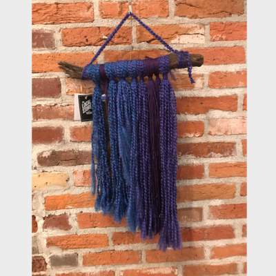 Joy Terrell Macrame Wall Hanging w/ Stick - Large