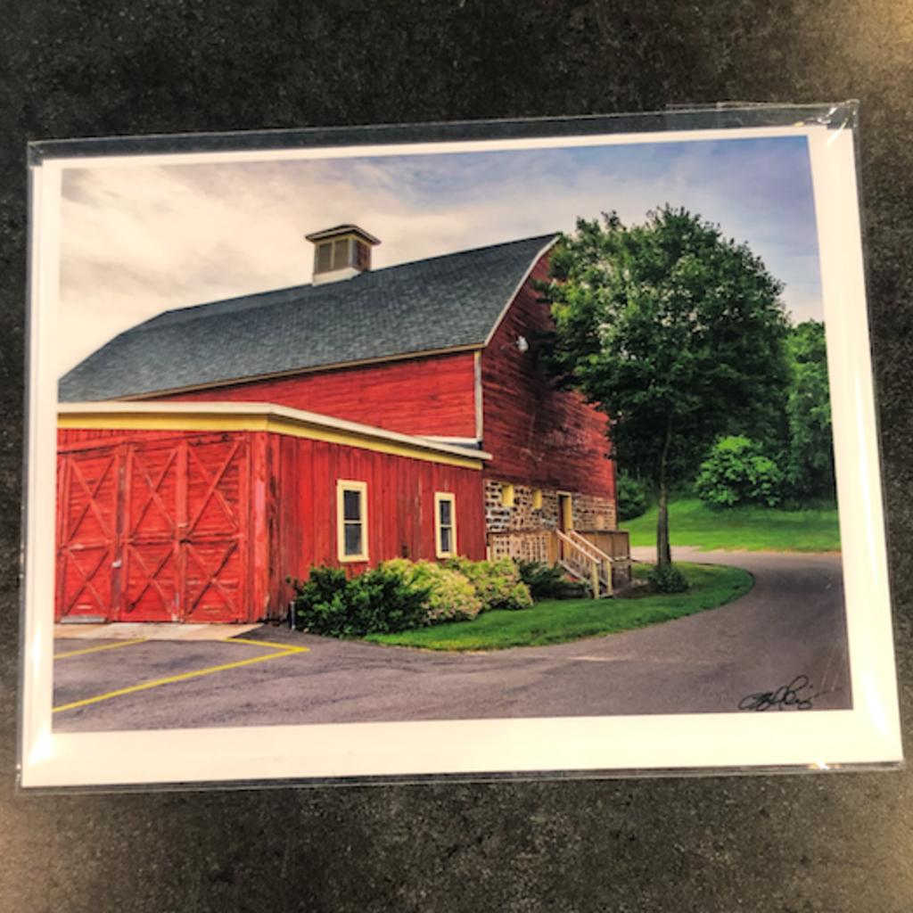 Lloyd Fleig Leinie's Barn Greeting Card