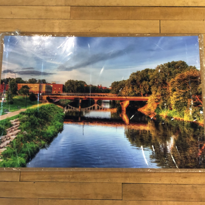 Lloyd Fleig Bridges Print - 20 X 30