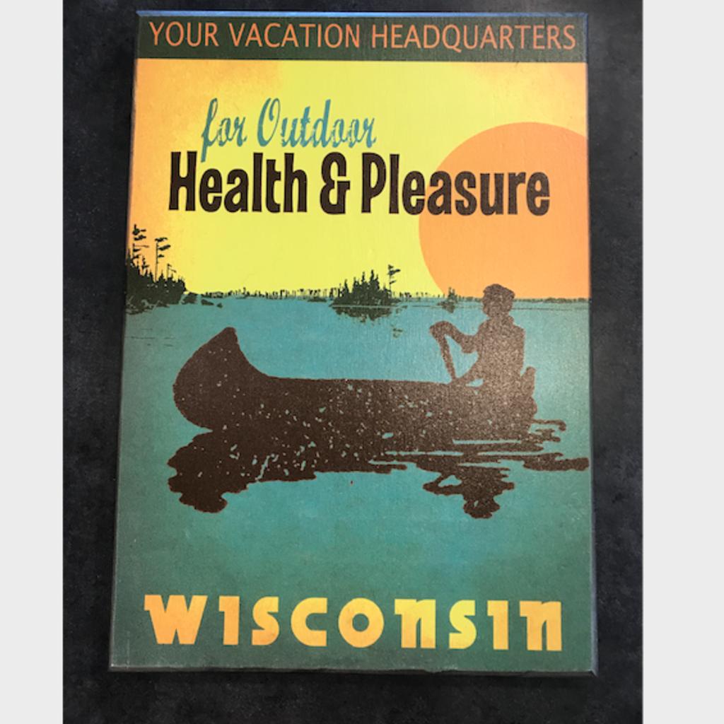Volume One Outdoor Health & Pleasure Wooden Sign - 11x16
