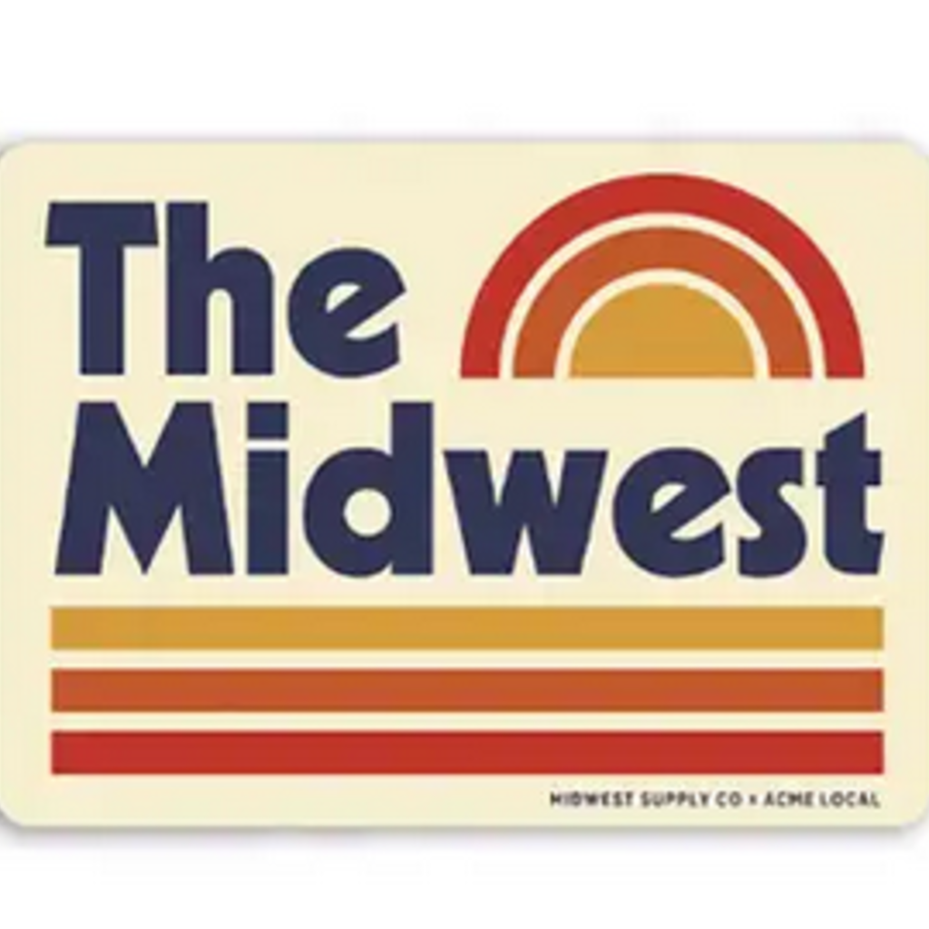 Sticker - The Midwest