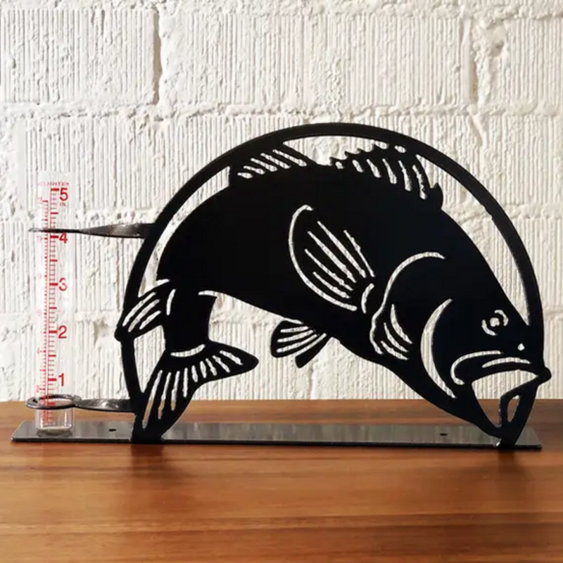 Rain Gauge - Metal Bass