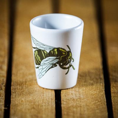 Volume One Happy Bee Shot Glass