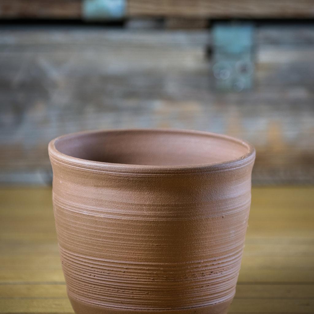 Ann Wrzosek-Manor (Meadowsong Studios) Locally Made Terra Cotta Pot - Medium (Assorted)
