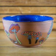 Ann Wrzosek-Manor (Meadowsong Studios) Meadowsong Bowl - Large (Assorted)