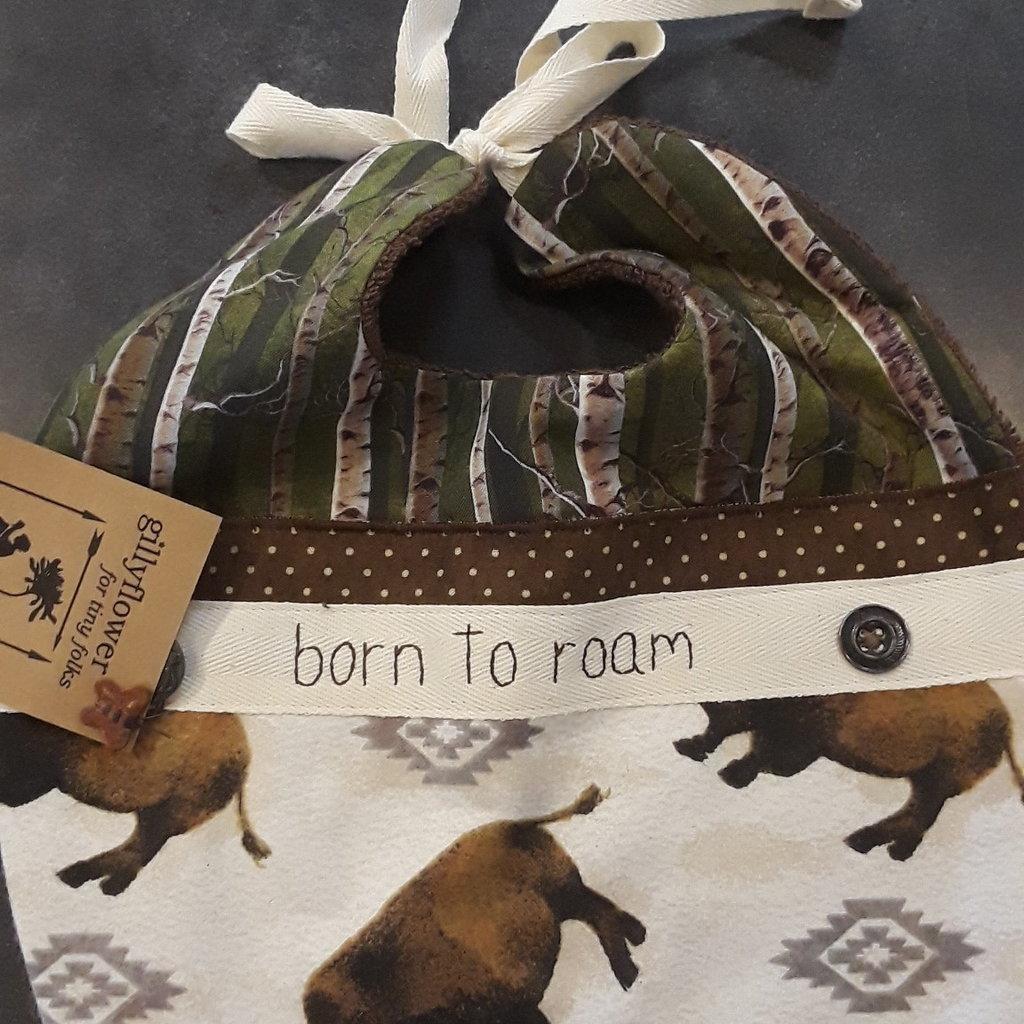 Deb Christenson Bib - Born To Roam