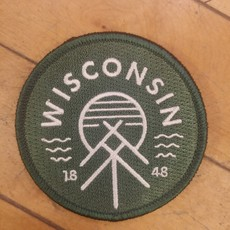 Giltee MKE Wisconsin Native Patch