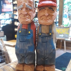 Wood Carving - Farmer