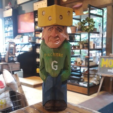 Wood Carving - Cheesehead