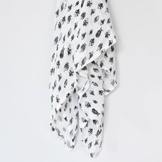 Volume One Muslin Swaddle - Fish
