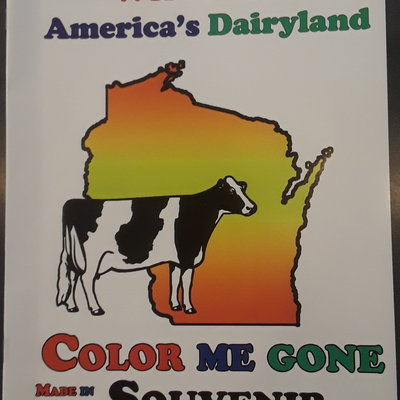 Wisconsin Coloring Book - America's Dairyland
