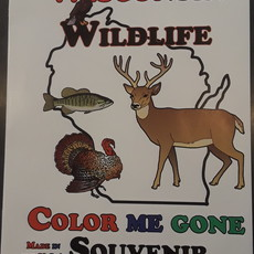 Wisconsin Coloring Book - Wildlife
