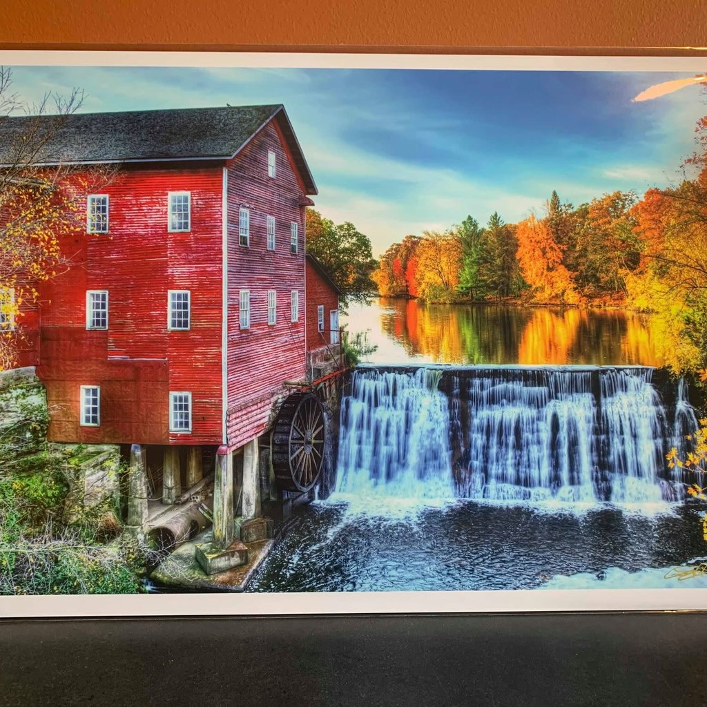 Lloyd Fleig Fall at the Dells Mill