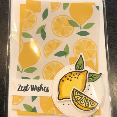 Jessica Christenson Lemon Card