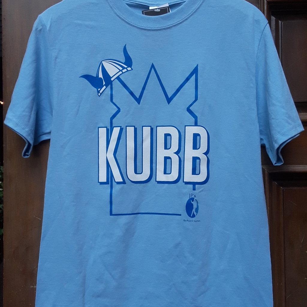 JP's Backyard Games KUBB Tee - Blue