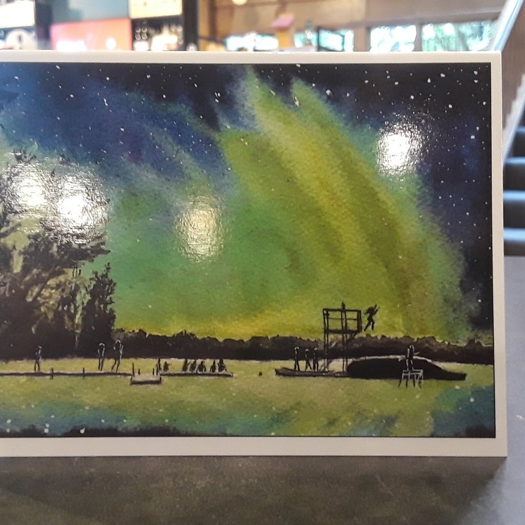Amy Beidleman Manitou Northern Lights Card