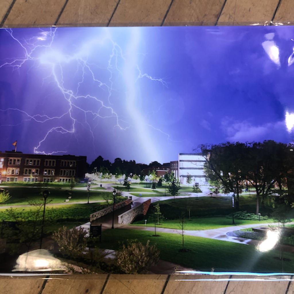 UWEC Lightning - 8x10