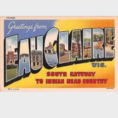 Volume One Greetings from Eau Claire Poster