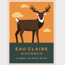 Volume One Eau Claire Animal Series Print - Deer
