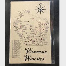 Wisconsin Wineries Map
