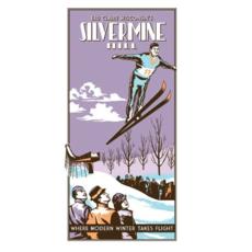 Volume One Vintage Tourism Poster - Silvermine Ski Hill
