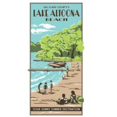 Volume One Vintage Tourism Poster - Altoona Beach