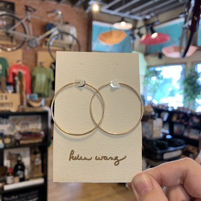 Helen Wang Jewelry Earrings - Gold Hoops