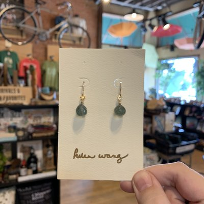 Helen Wang Jewelry Earrings - Moss Aqua