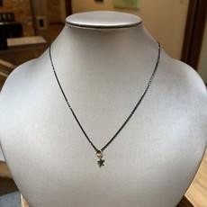 Helen Wang Jewelry Necklace - Black 24K Star