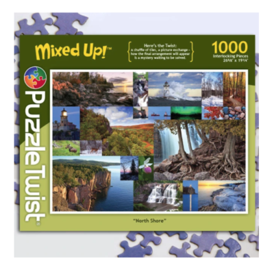Puzzle Twist North Shore Jigsaw Puzzle