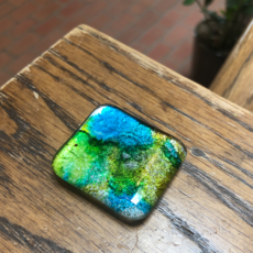 Fused Glass Magnet (Assorted Colors)