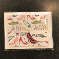 Jessica Christenson Shoe Card