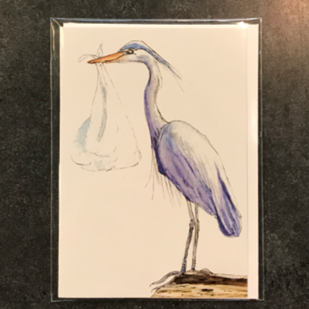 Amy Beidleman Special Delivery Greeting Card