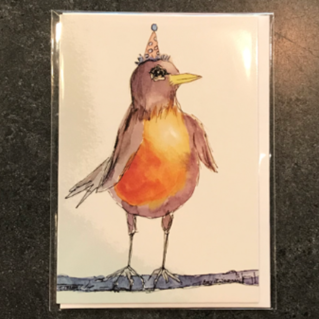 Amy Beidleman Whoo-hoo Greeting Card