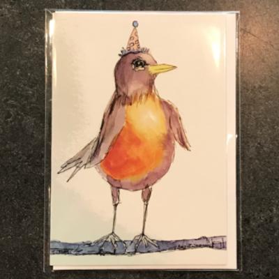 Amy Beidleman Whoo-hoo Greeting Card