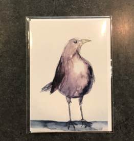 Amy Beidleman Getting Older is for The Birds Greeting Card