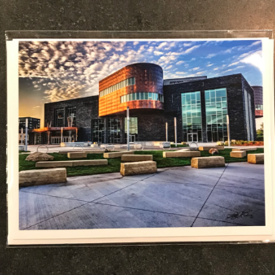 Lloyd Fleig Pablo Center at the Confluence Greeting Card