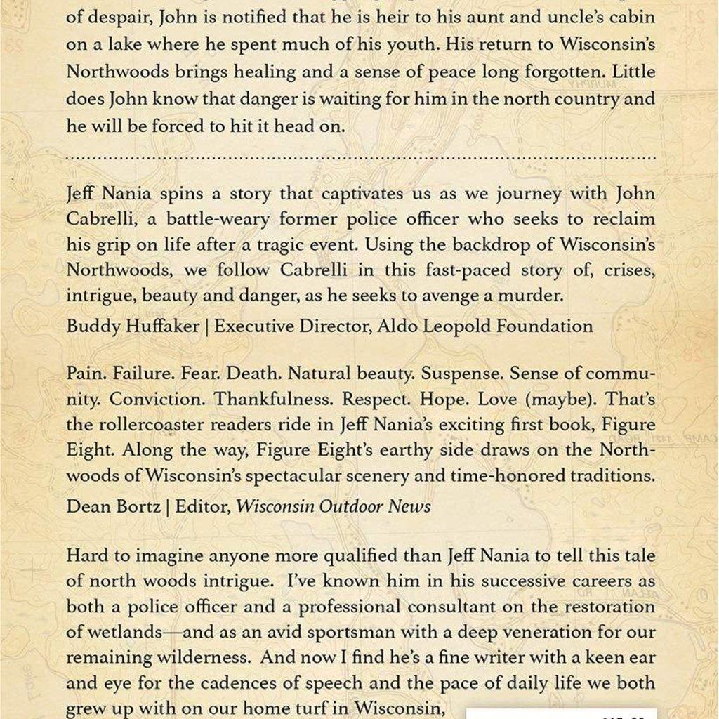 Jeff Nania Figure Eight: A Northern Lakes Mystery