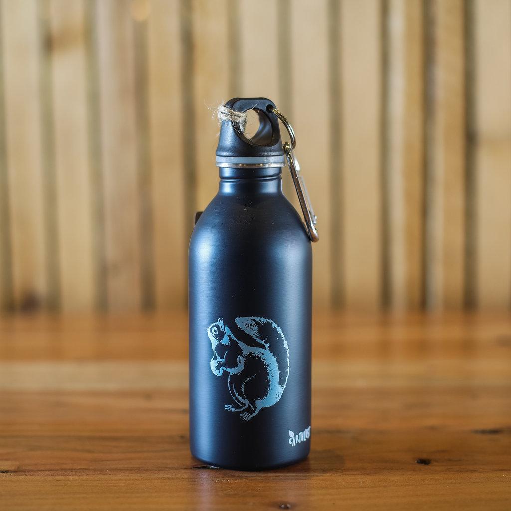 Earthlust Stainless Steel Bottle - Squirrel (13 oz.)
