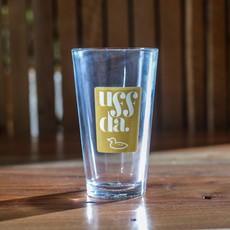 Northern Glasses Pint Glass - Uff Da