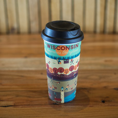 Volume One Travel Mug - Wisconsin Seasons (20oz.)
