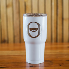 Iverson Custom Coatings Lumberjack Tumbler - White
