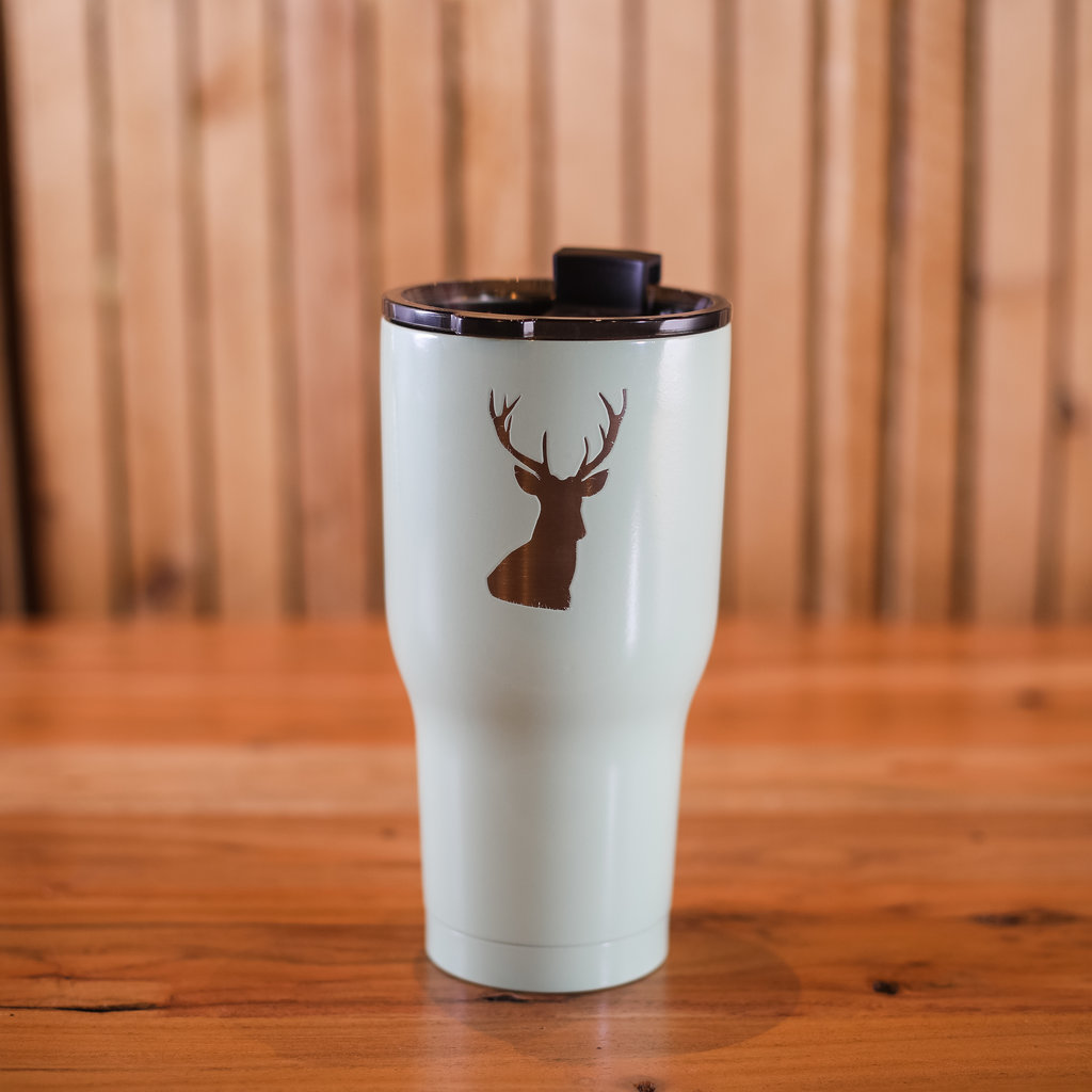 Iverson Custom Coatings Deer Tumbler - Mint