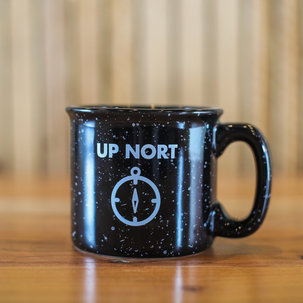 "Volume One ""Up Nort"" Camping Mug"