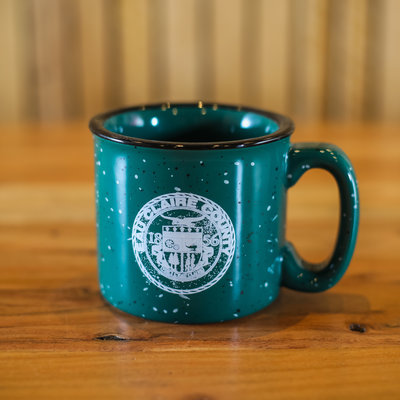 Volume One Camping Mug - Eau Claire County , Green