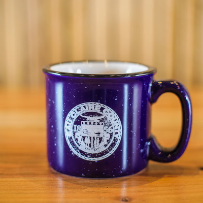 Volume One Camping Mug - Eau Claire County , Blue