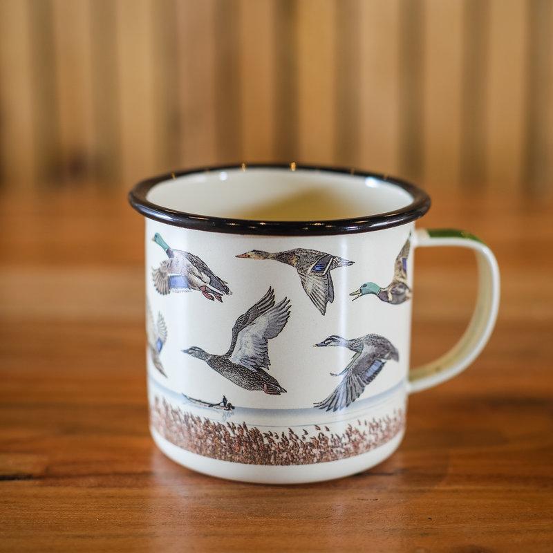 Volume One Enamel Mug - Lake & Ducks
