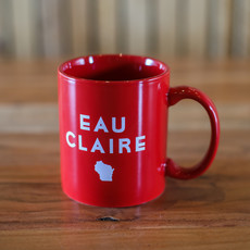 Volume One Eau Claire State Mug - Red