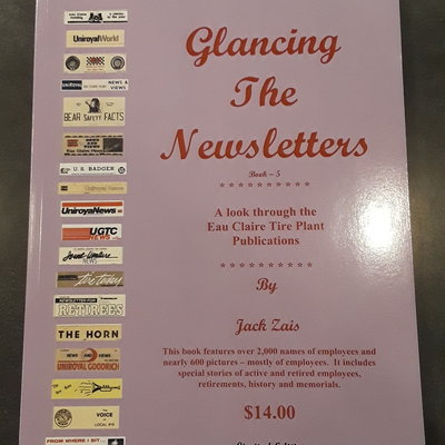 Jack Zais Glancing the Newsletters Vol. 5