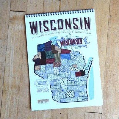 James Steeno Wisconsin Coloring Book